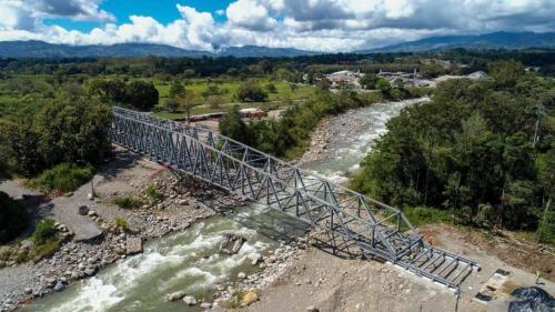 Nuevo puente sobre el General Viejo